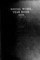 Social Work Year Book, 1939