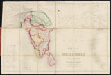 Betts's new map of India, Birmah, the Punjaub and part of Afghanistan.