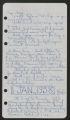 Diary, 1958 (Box 1, Folder 3)