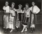 Members of Ukrainian Twin Cities Folk Ballet in folk costumes