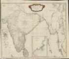Carte de l'Inde : dresseáe pour la compagnie des Indes