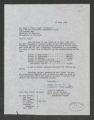 Korea: Advisory Committee. Seoul National University Cooperative Committee, 1957-1958 (Box 82, Folder 20)