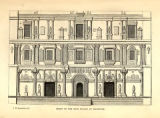 Front of the Rao's Palace at Mandivee.
