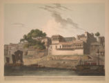 Part of the City of Patna, on the River Ganges.