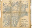 All-round route map excursion routes via Niagara Falls, Toronto, Ottawa, Montreal, Quebec, White Mountains, Portland, Lake Champlain, Lake George, &c.