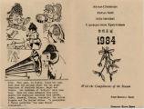 1984 Shaw Christmas Card -- Variant
