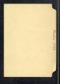 Diaries. Alaska notes (Box 3, Folder 108)