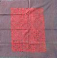 Ajrak double sided block printing