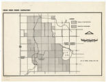 Cedar Creek Forest Laboratory map, 1958
