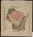 General geological map of Wisconsin, 1881
