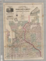 Sectional map of the surveyed portion of Minnesota and the northwestern part of Wisconsin