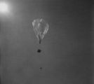 Ascension of balloon and test package; Flight 125 image 5383