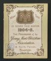 Local Association Miscellaneous Materials. Bradford, 1904-1905 and 1937-1938. (Box 11, Folder 6)