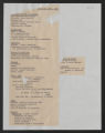 Programs, Organizations, and Subjects. General Subjects, Conferences, Meetings, and Seminars,1922-1974. Annual Conference, Minutes, circa 1929-1930. (Box Legal 244, Folder 33)
