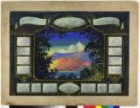 Ad drop with landscape composition.