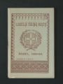 Local Association Miscellaneous Materials. Lincoln, 1889-1890. (Box 11, Folder 10)
