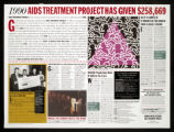 1990: AIDS Treatment Project Has Given $258,669