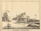 The stockade at Telayn in Cachar