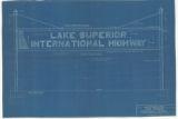 Gateway Sign, Lake Superior International Highway, Near Lester Park
