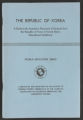 The Republic of Korea: A Guide to the Academic Placement of Students from the Republic of Korea in United States Educational Institutions, 1958 (Box 2, Folder 11)