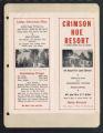 Crimson Hue Resort, Chetek, Wisconsin