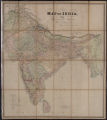 Map of India from the most recent authorities