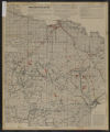 Map of Minnesota : school and other state lands, for sale in 1919