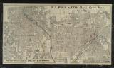 R.L. Polk & Co's. dual city map