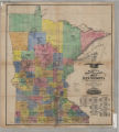 Burritt's sectional and township map of Minnesota