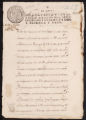 Receipt of 15,300 pesos in payment from Governor Bucarelli for the transport and provisioning of the Jesuits., October 31st, 1768.