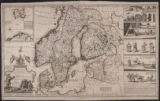 A new map of Denmark and Sweden : according to ye newest and most exact observations.