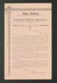 Local Association Miscellaneous Materials. Birmingham, 1894. (Box 10, Folder 11)