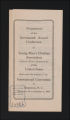 Conferences. National Conference Matierals, 1871-1946. (Box 4, Folder 8)