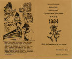1984 Shaw Christmas Card