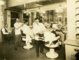 Barbershop at McBurney branch YMCA (formerly known as the 23rd Street branch) in New York City