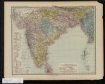 Inner-Asien & Indien: Südliches Blatt maassstab 1:7,500,000