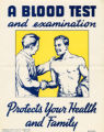 A Blood test and examination protects your health and family