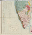 General sketch of the physical and geological features of British India (Southwest Sheet)
