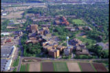 Aerial view, St. Paul Campus, from the north