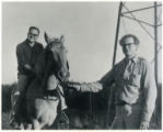 James Wright (r.) and Robert Bly (Mss 66)
