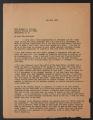 Related Organizations, 1925-1949. Inter-Community Child Study Committee. Committee Correspondence. Correspondence. (Box 40, Folder 421)