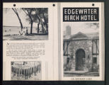 Edgewater Beach Hotel, first page, Detroit Lakes, Minnesota