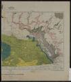 Geological map of Alberta, Saskatchewan and Manitoba