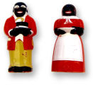 Jemima and Mose Salt and Pepper Shakers