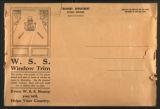 Liberty Loan window displays, door knob promotional posters (United States, World War I). (Box 1, Folder 2)