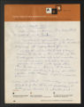 1934-1961. Notes on the Report of the Committee for Evaluation to the General Education Board. (Box 3, Folder 13)