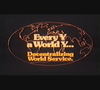 Every Y a World Y: Decentralizing World Service