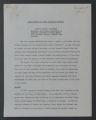 Departments and Programs, 1926-1965. Program Advisory Service (Speaker's Bureau). Sidonie M. Gruenberg. Sidonie M. Gruenberg, Lecture Abstracts, 1933-1939. (Box 33, Folder 330)