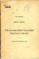Alabama Great Southern Railroad Company, Annual Report, 1918