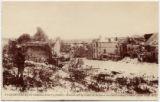 21 Courteaux pres Chateau-Thierry (Aisne) -- ruines sur la route de Bellaux apres le bombardement (photo 1918) M.D.